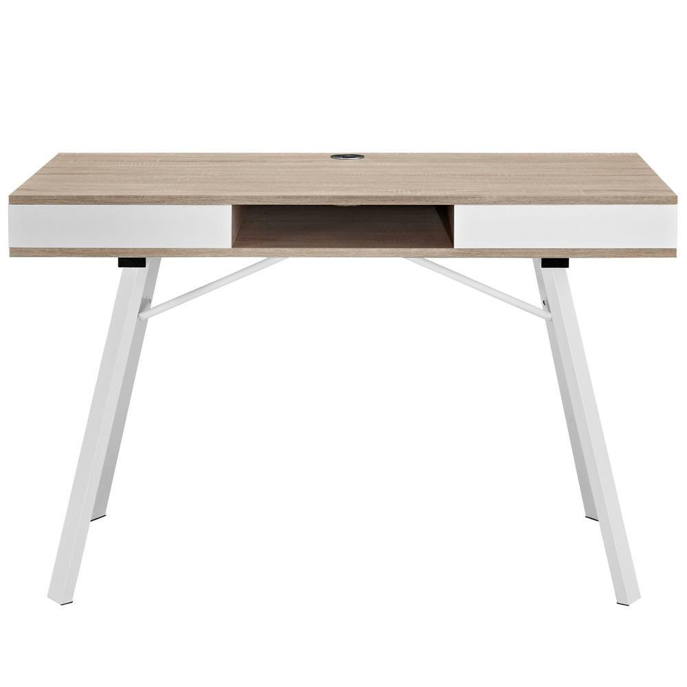 Modway Stir Office Desk - Oak