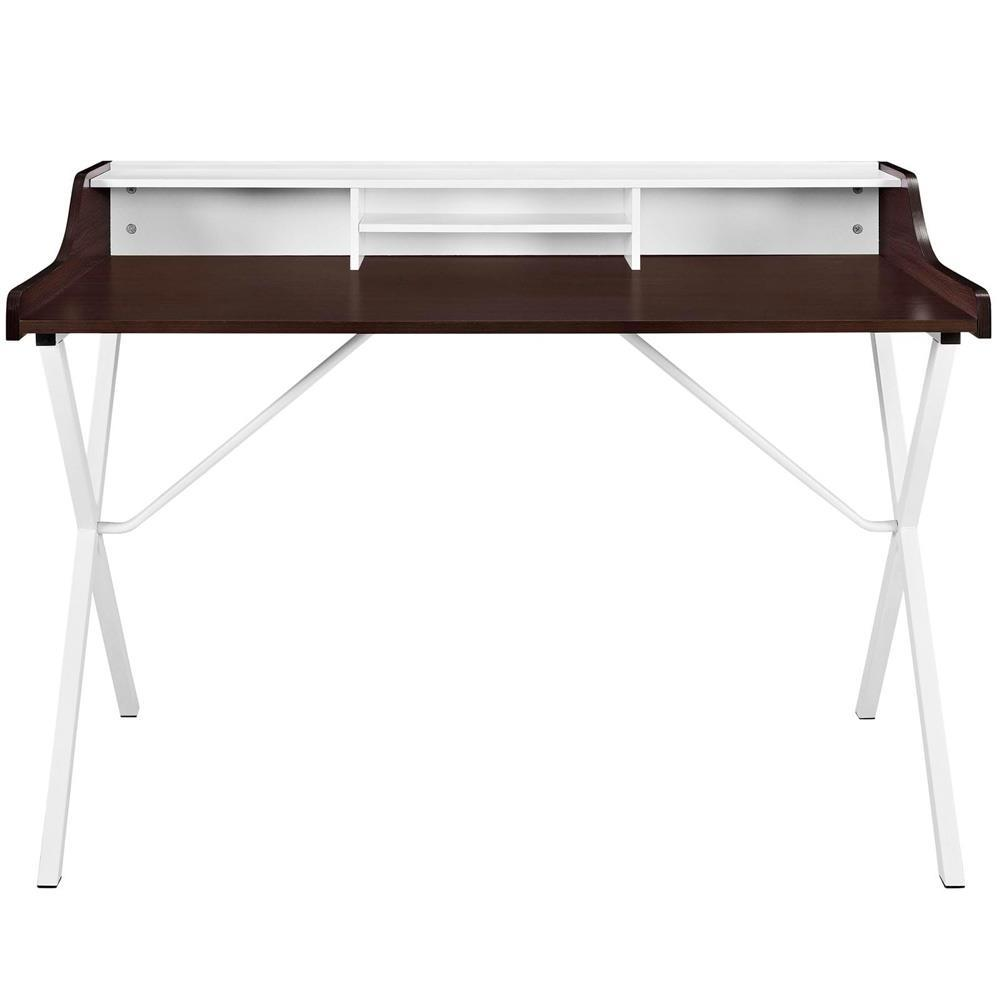 Modway Bin Office Desk - Cherry