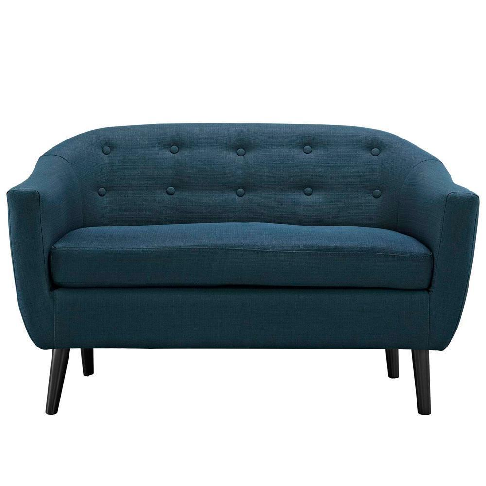 Modway Wit Upholstered Loveseat - Azure
