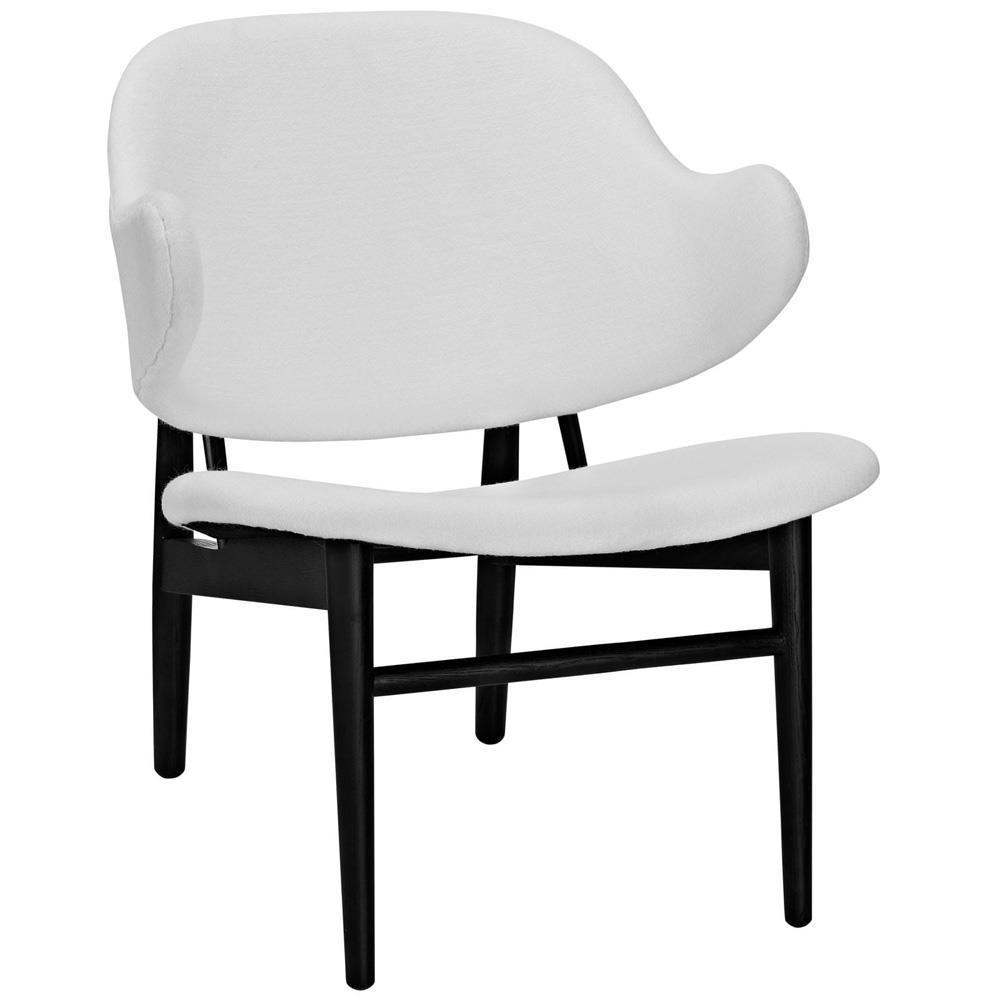Modway Suffuse Lounge Chair - Black White