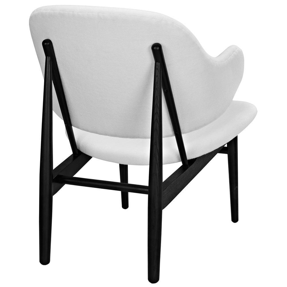 Modway Suffuse Lounge Chair - Black Red