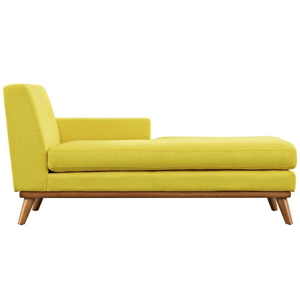 Modway Engage Right-Arm Chaise - Sunny