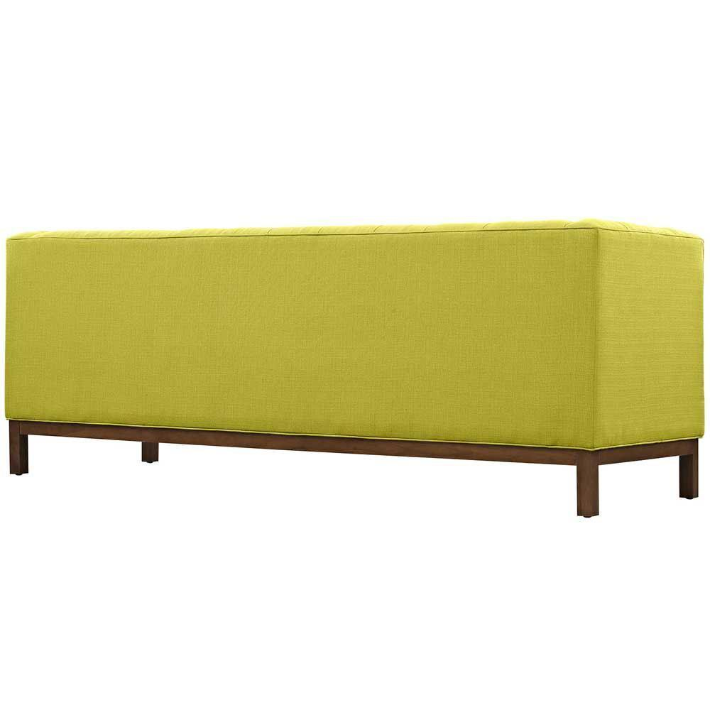 Modway Panache Upholstered Fabric Sofa - Wheatgrass