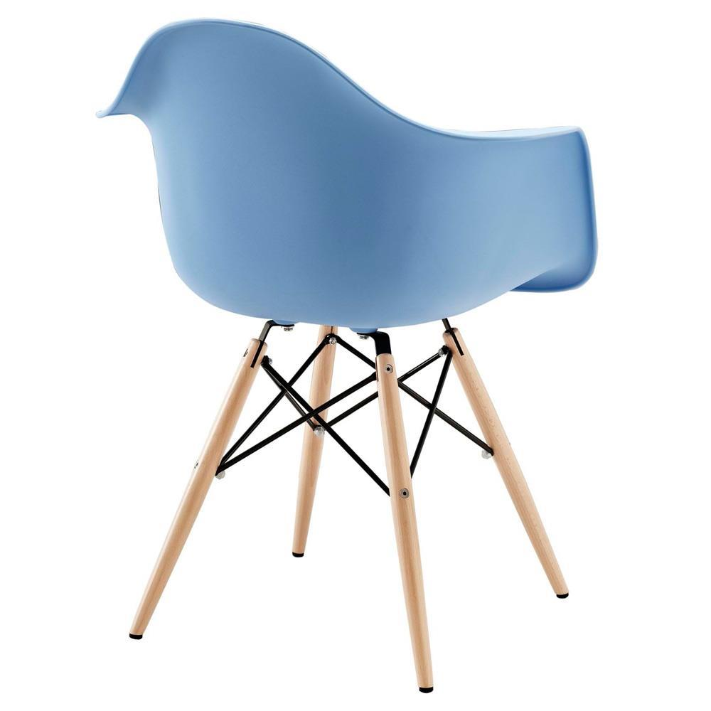 Modway Pyramid Dining Armchair - Blue