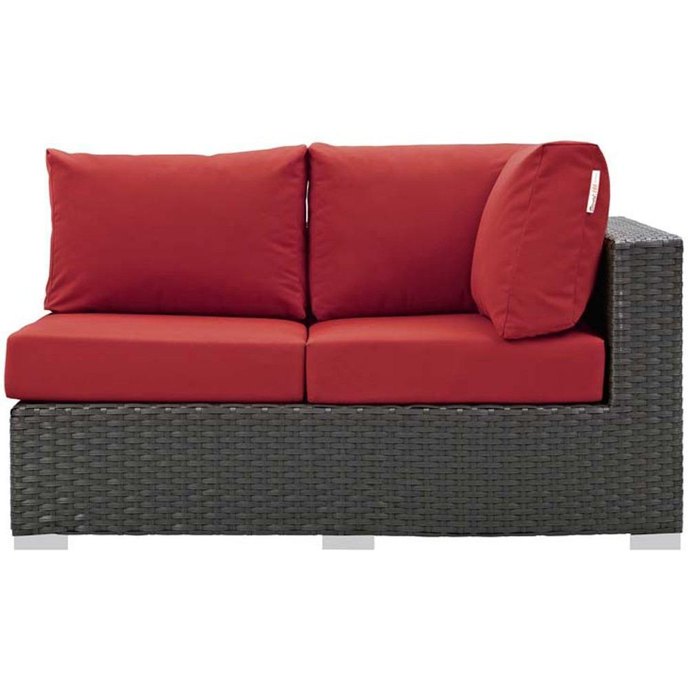 Modway Sojourn Outdoor Patio Right Arm Loveseat