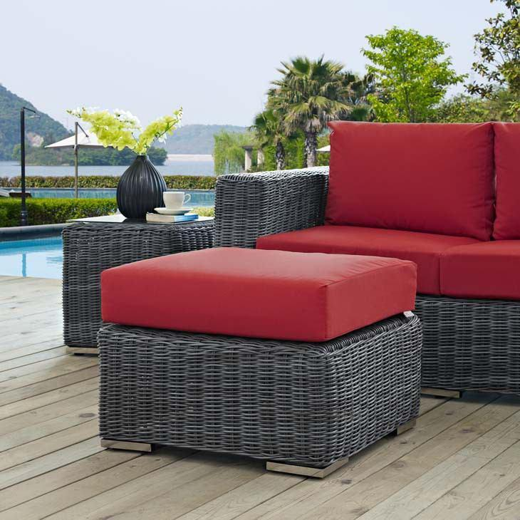 Modway Summon Outdoor Patio Ottoman