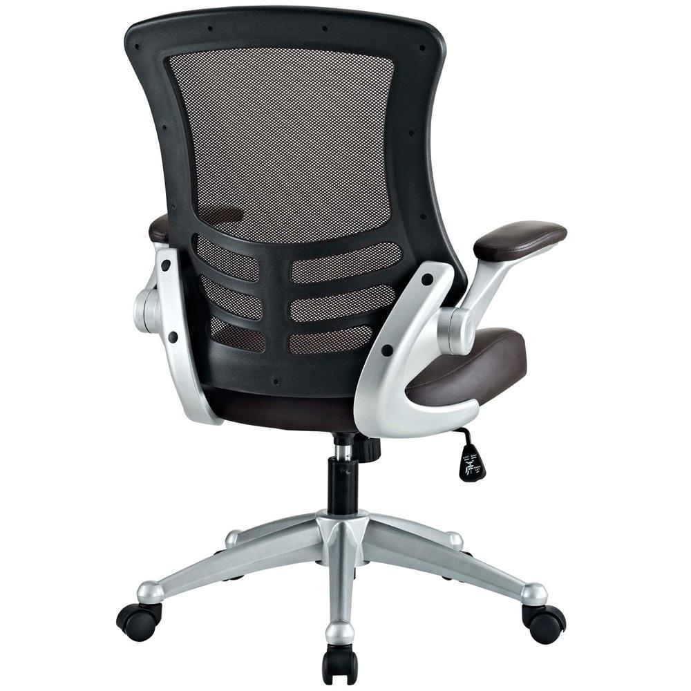 Modway Attainment Office Chair - Brown