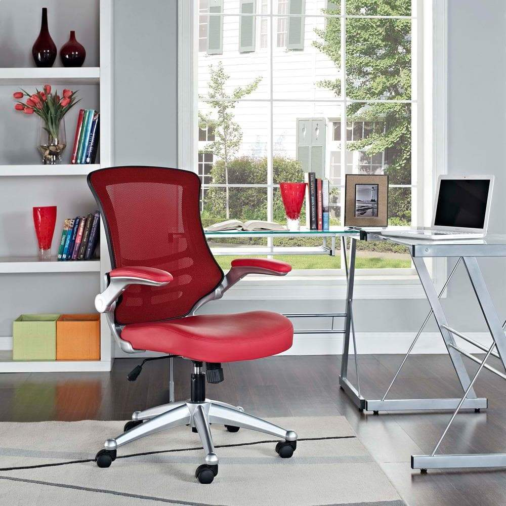Modway Attainment Office Chair - Red