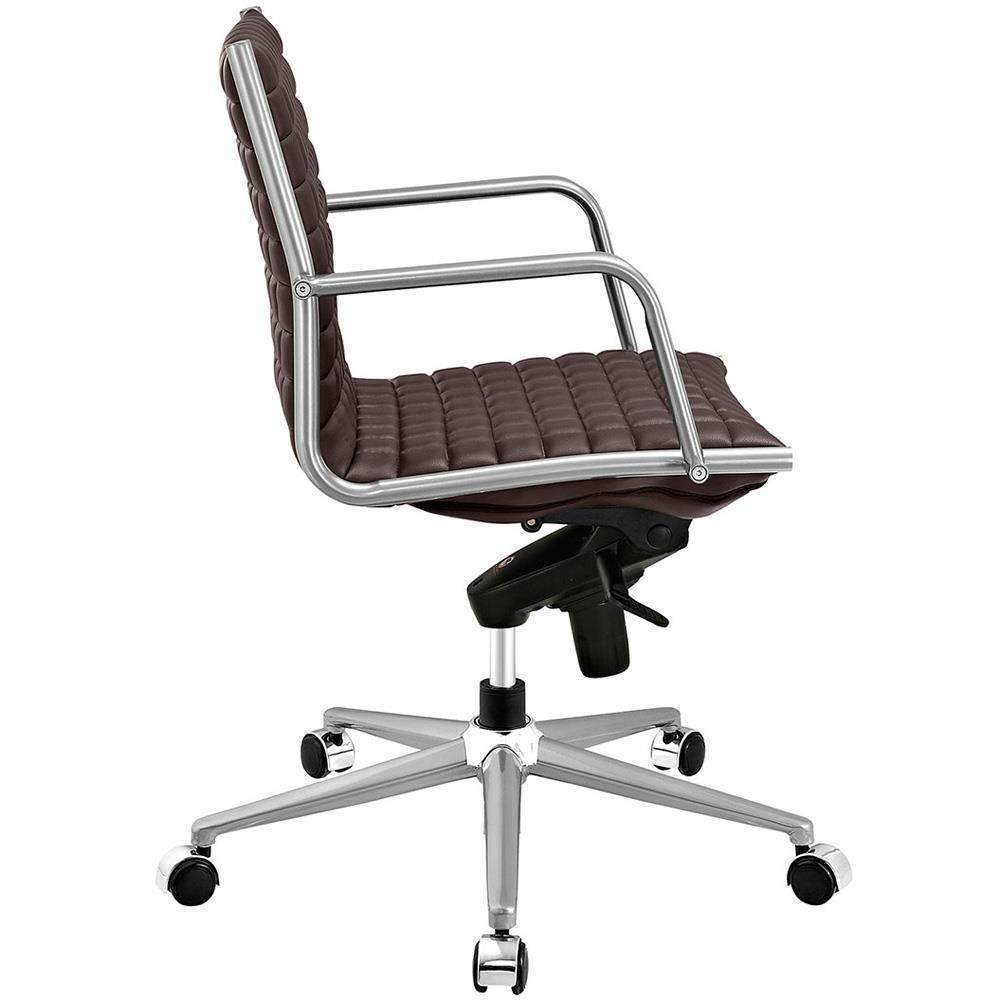 Modway Pattern Office Chair - Brown
