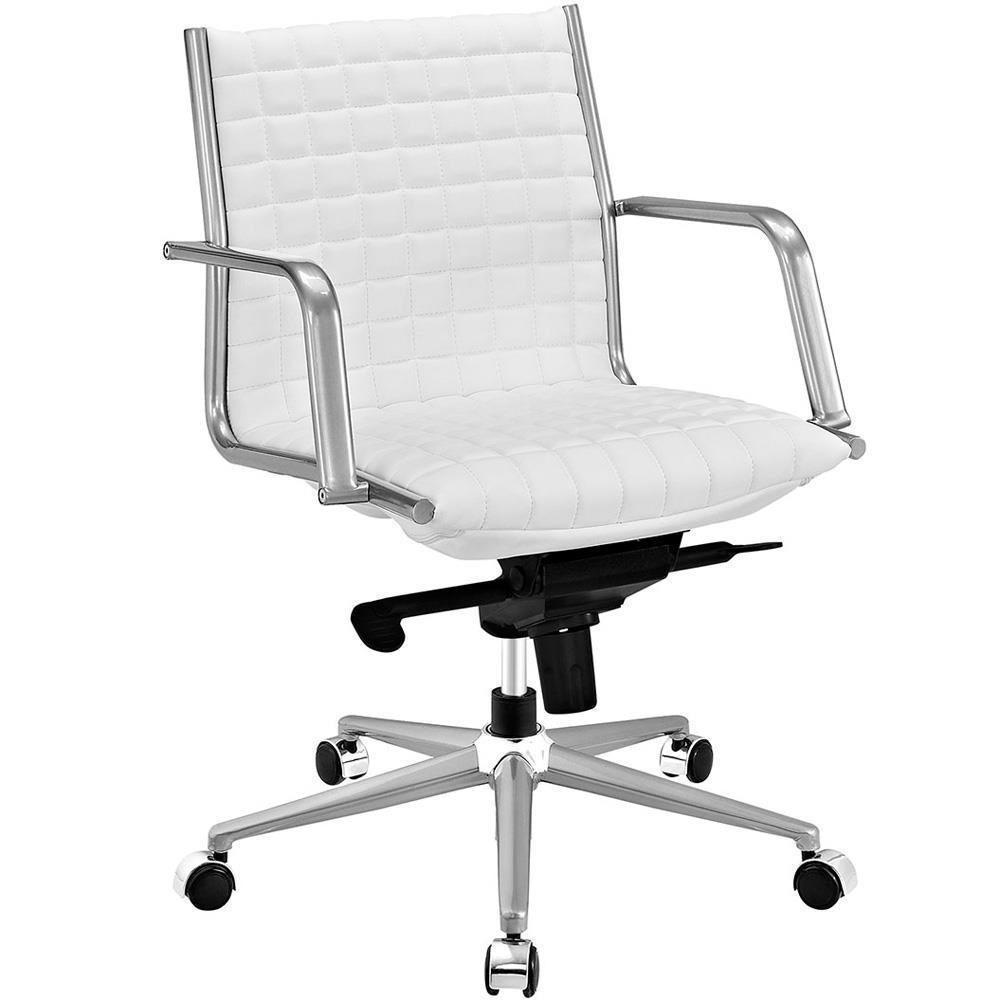 Modway Pattern Office Chair - White