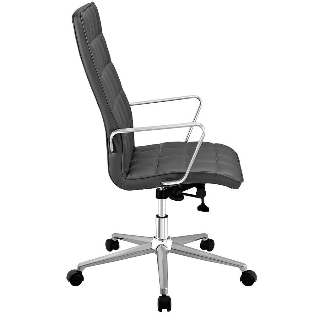 Modway Tile Highback Office Chair - Gray