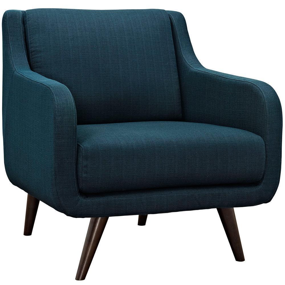 Modway Verve Upholstered Armchair - Azure