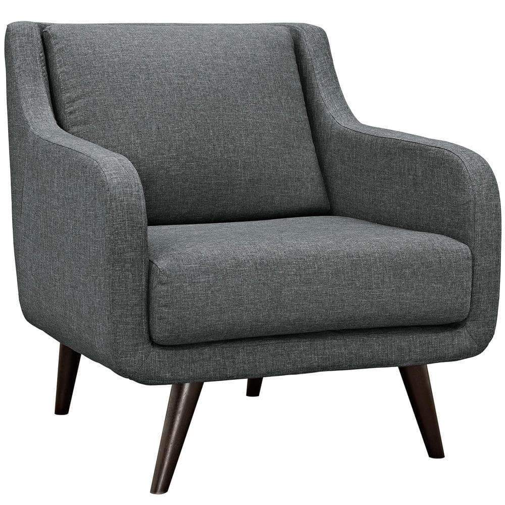 Modway Verve Upholstered Armchair - Gray