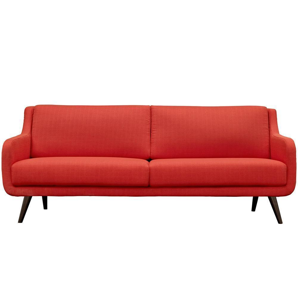 Modway Verve Upholstered Sofa - Atomic Red
