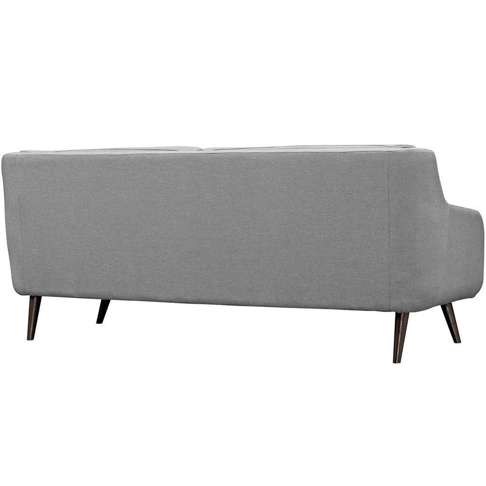 Modway Verve Upholstered Sofa - Light Gray