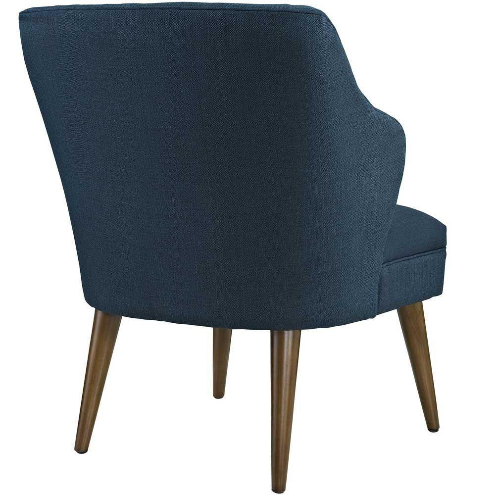 Modway Swell Upholstered Fabric Armchair - Azure