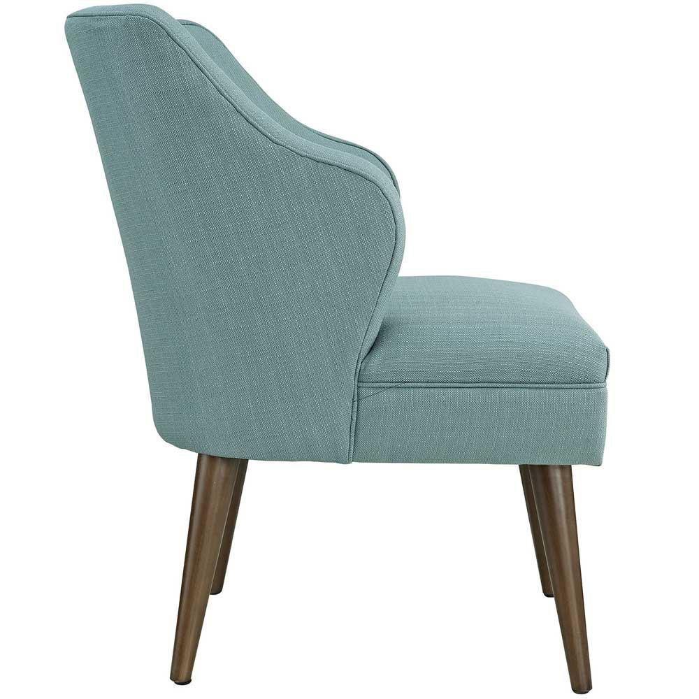 Modway Swell Upholstered Fabric Armchair - Laguna