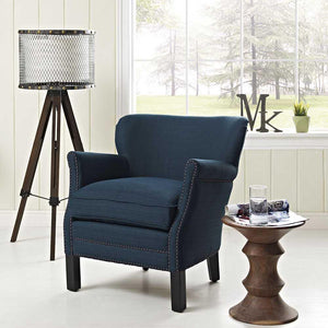 Modway Key Fabric Armchair