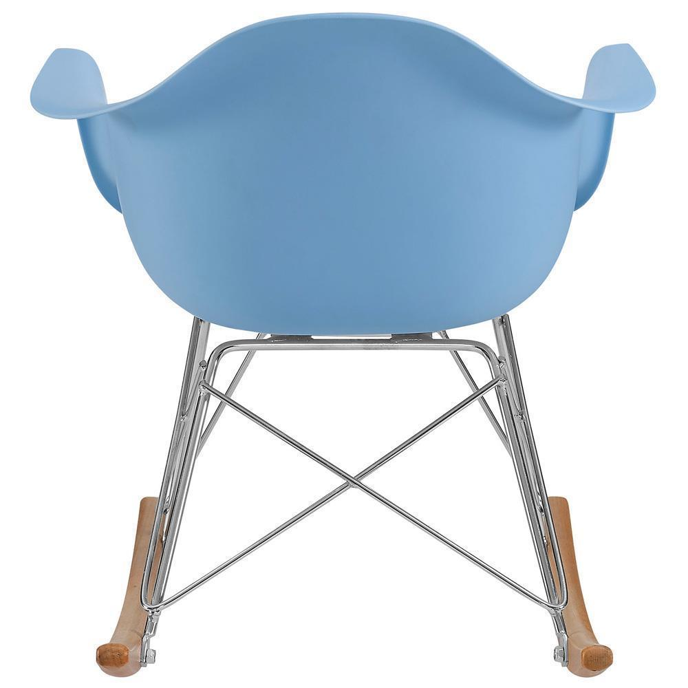Modway Rocker Kids Chair - Blue