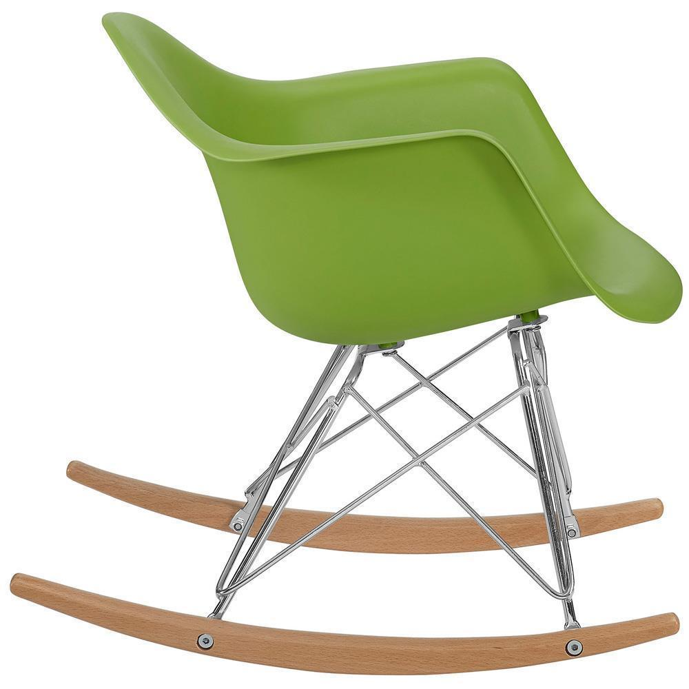 Modway Rocker Kids Chair - Green