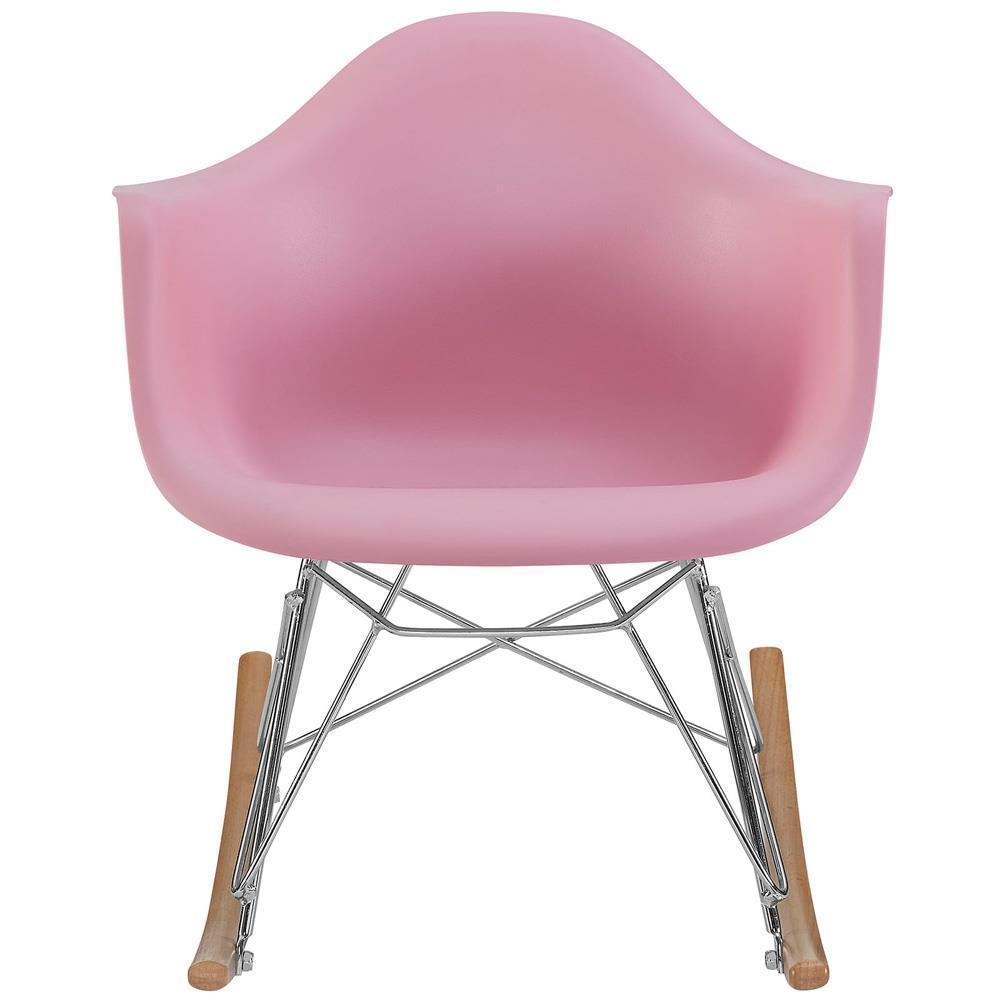 Modway Rocker Kids Chair - Pink