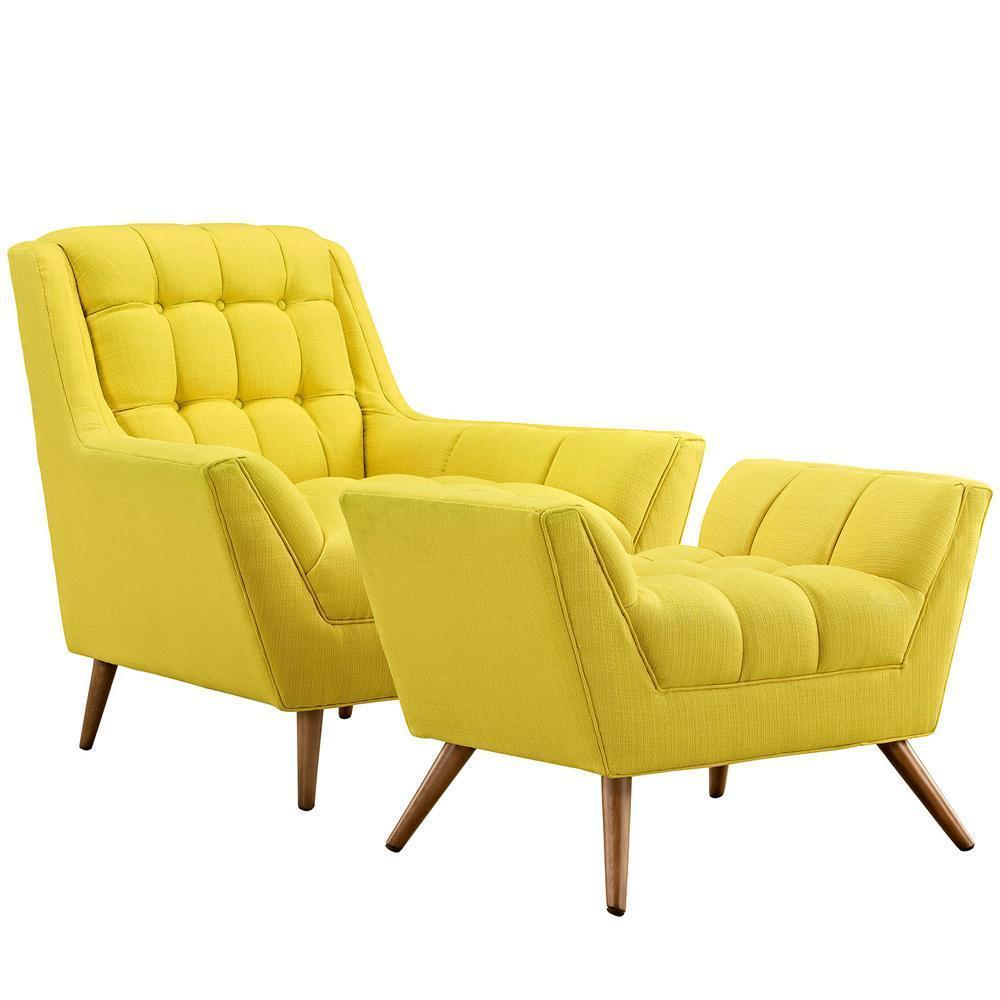 Modway Response Living Room Set Set of 2 - Sunny