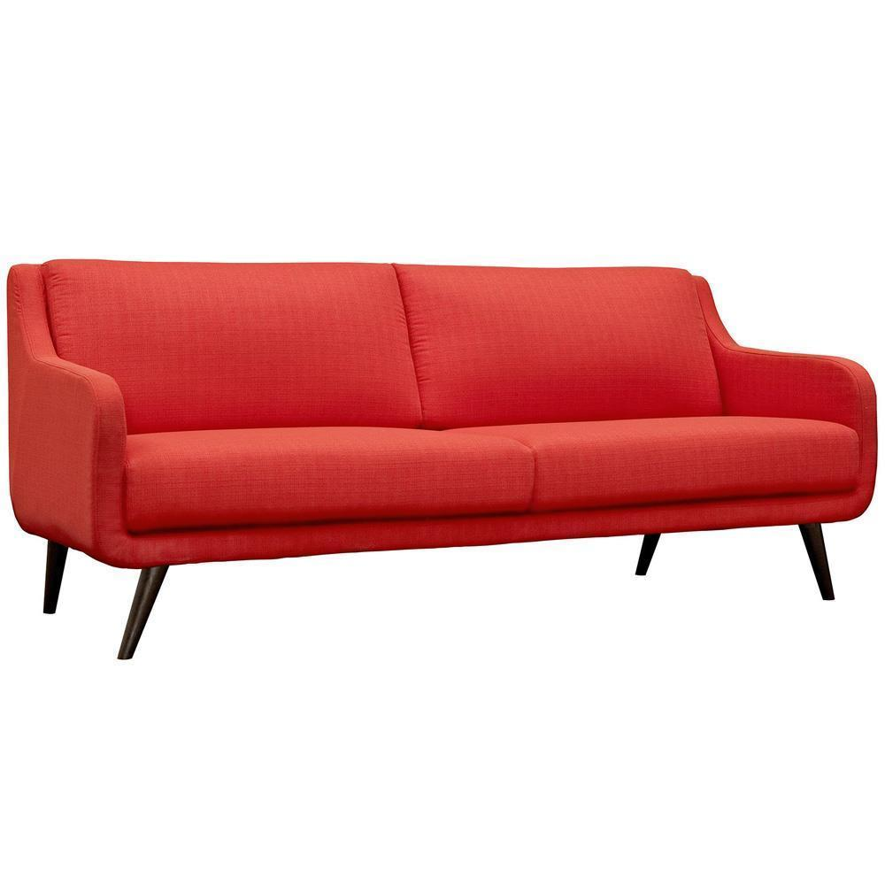 Modway Verve Living Room Set Set of 3 - Atomic Red