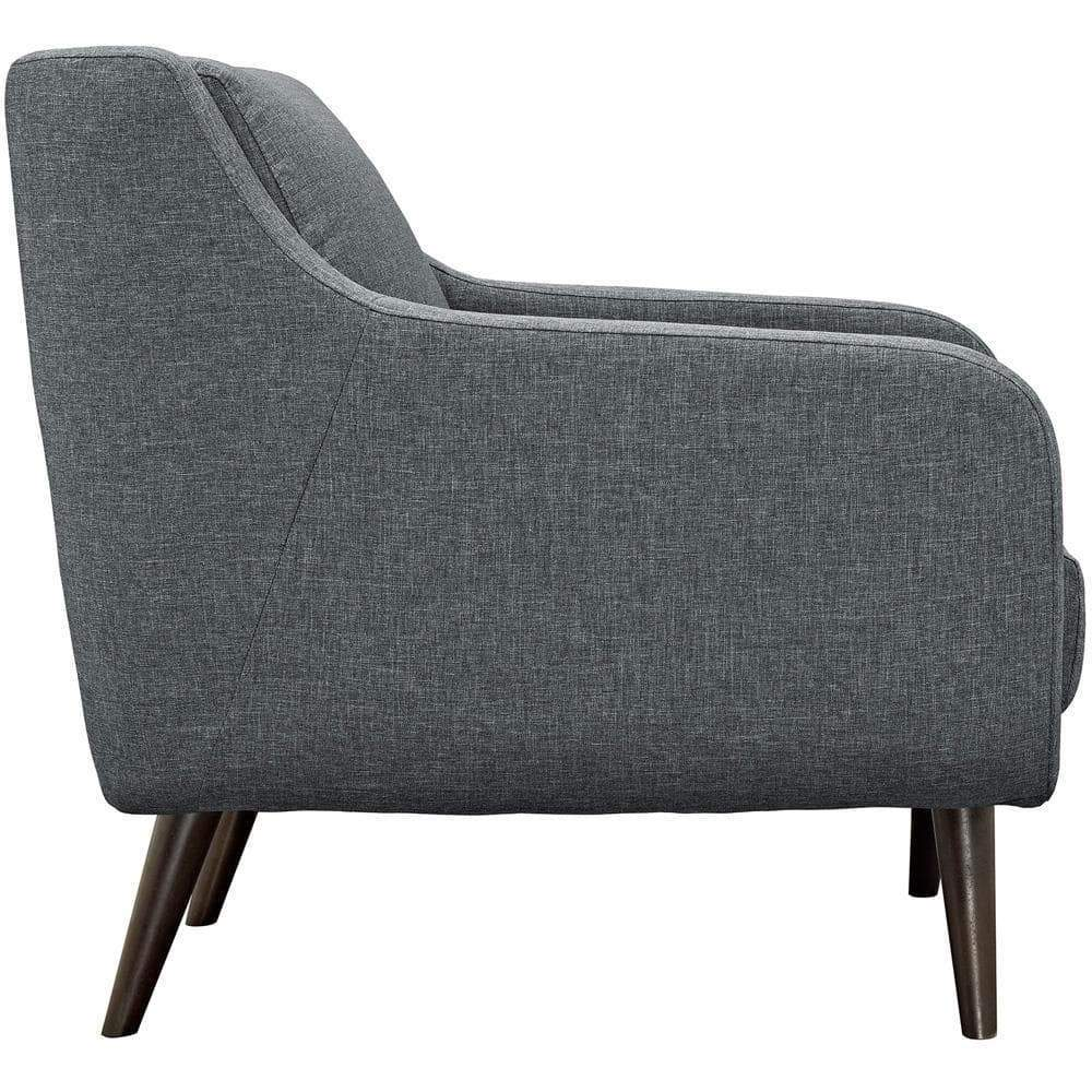 Modway Verve Armchairs Set of 2 - Gray