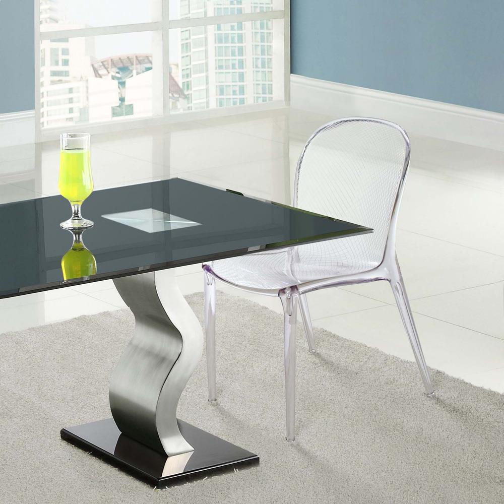 Modway Scape Dining Side Chair - Clear