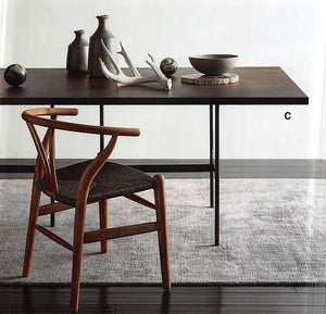 Roost Ebonized Wood Dining Table