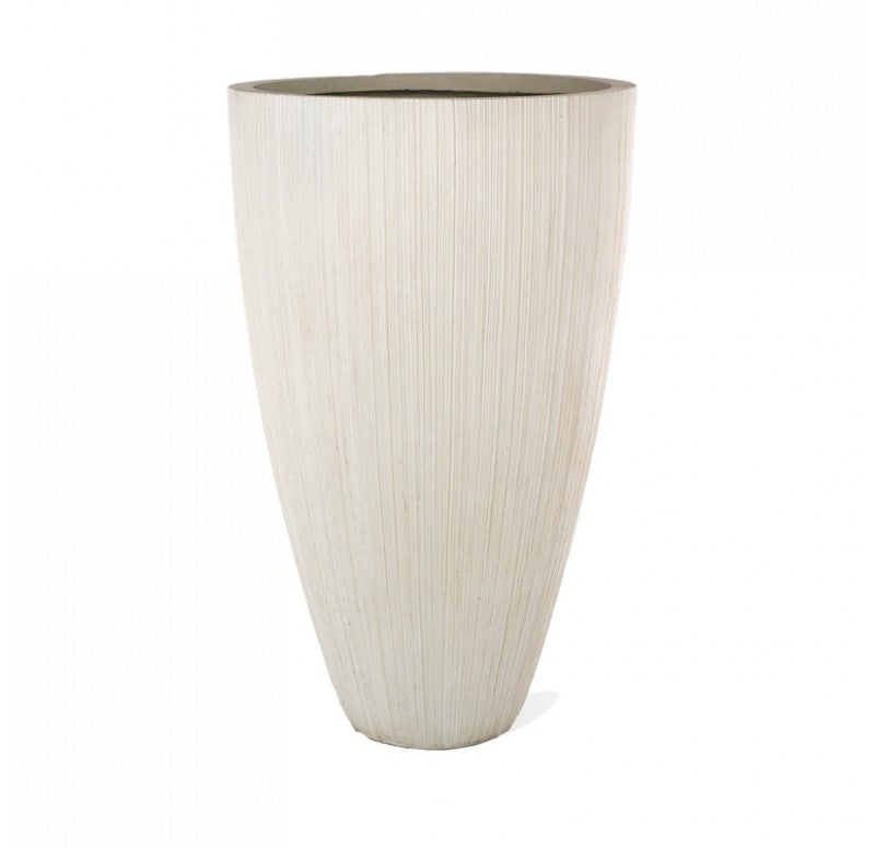 Gold Leaf Linea Fiber Clay Xlg Planter