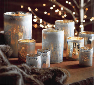 Roost Icy Optic Candle Holders