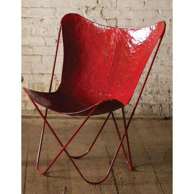 Kalalou Iron Butterfly Chair