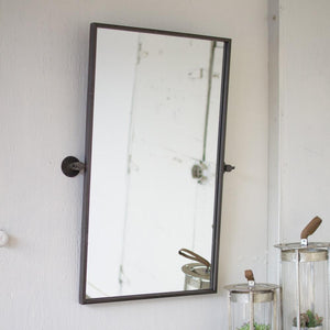 Kalalou CQ7054 Adjustable Metal Wall Mirror