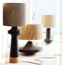 Roost Bruno Stoneware Lamps