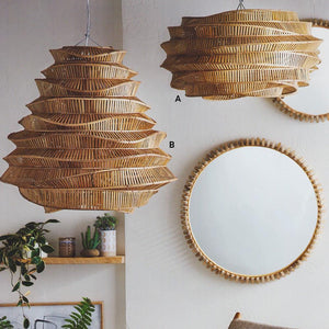 Roost Bamboo Cloud Chandeliers - Stratus