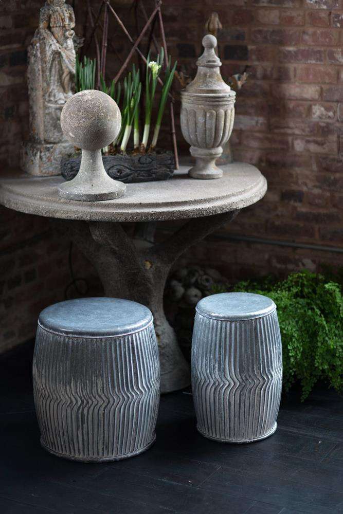 Vagabond Vintage Galvanized Dolly Seats/Planters