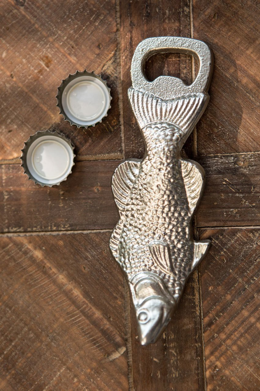 Vagabond Vintage Metal Fish Bottle Opener - Set of 3