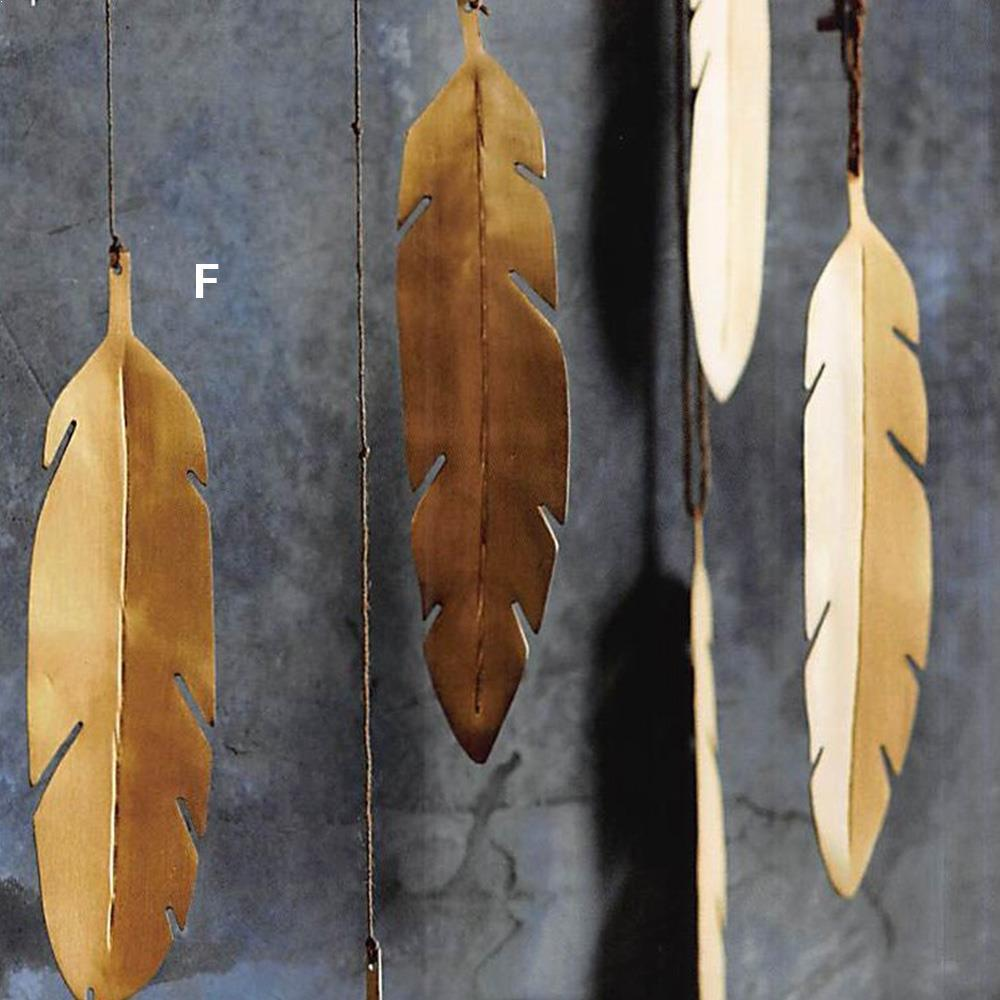 Roost Brass Feathers & Spirit Animal Ornaments