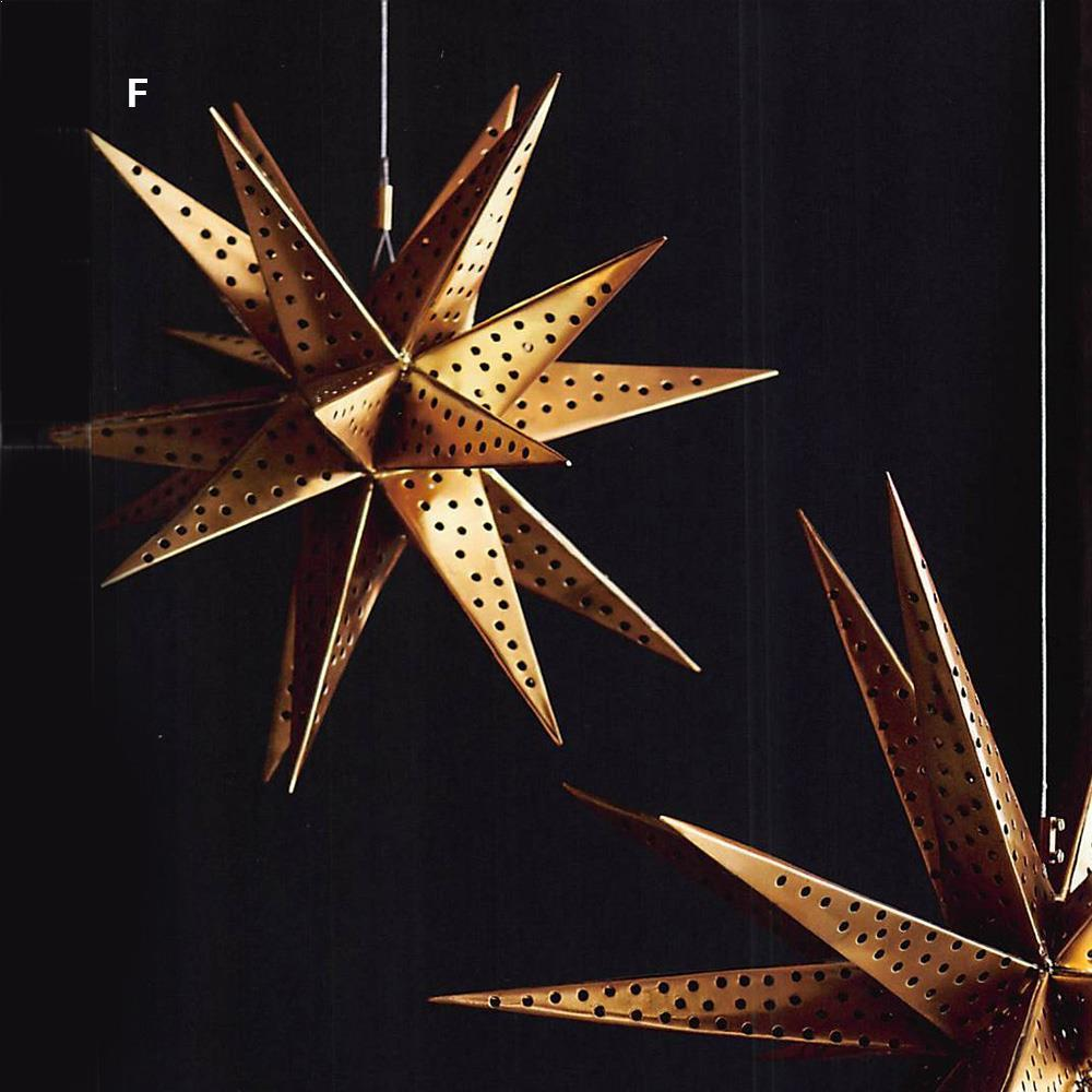 Roost Brass Hanging Starbursts