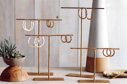 Roost Forged Brass Jewelry Stands - Set Of 4