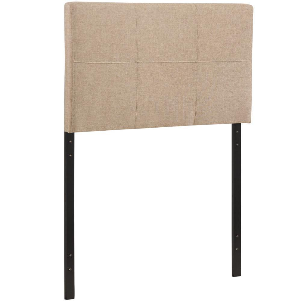 Modway Oliver Twin Upholstered Fabric Headboard - Beige