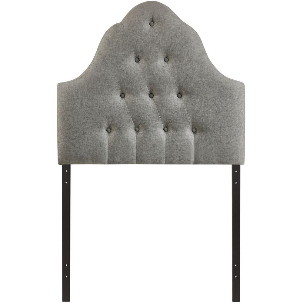 Modway Sovereign Twin Upholstered Fabric Headboard - Gray