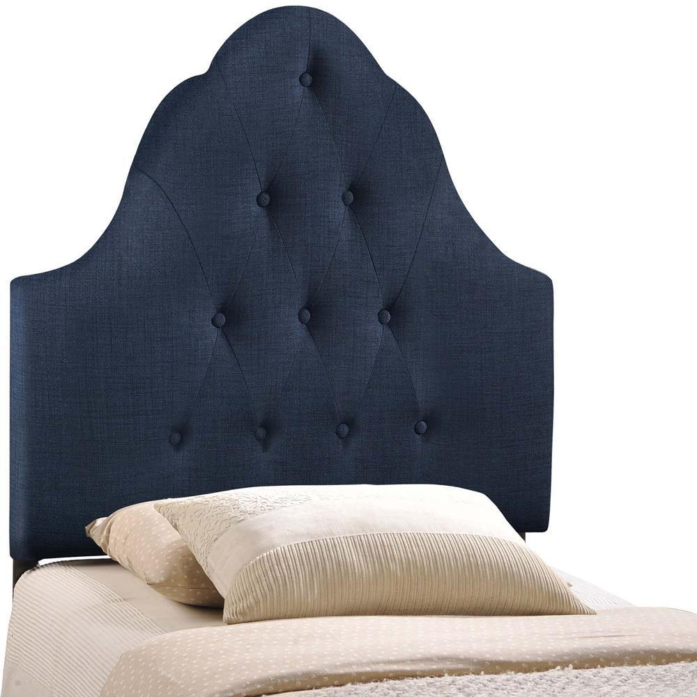 Modway Sovereign Twin Upholstered Fabric Headboard - Navy