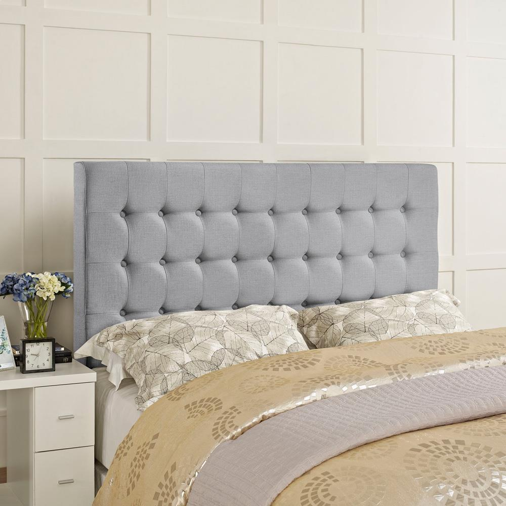 Modway Tinble Queen Headboard - Sky Gray