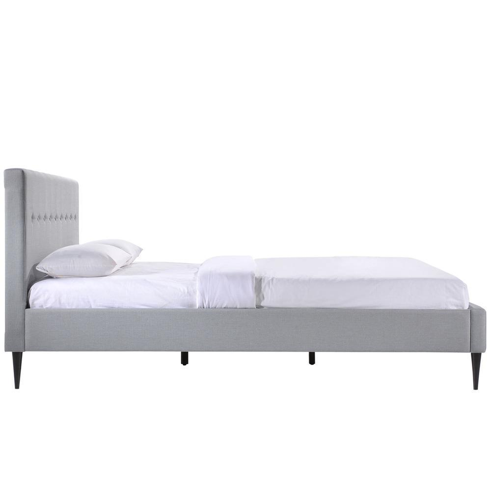 Modway Stacy Queen Bed - Sky Gray
