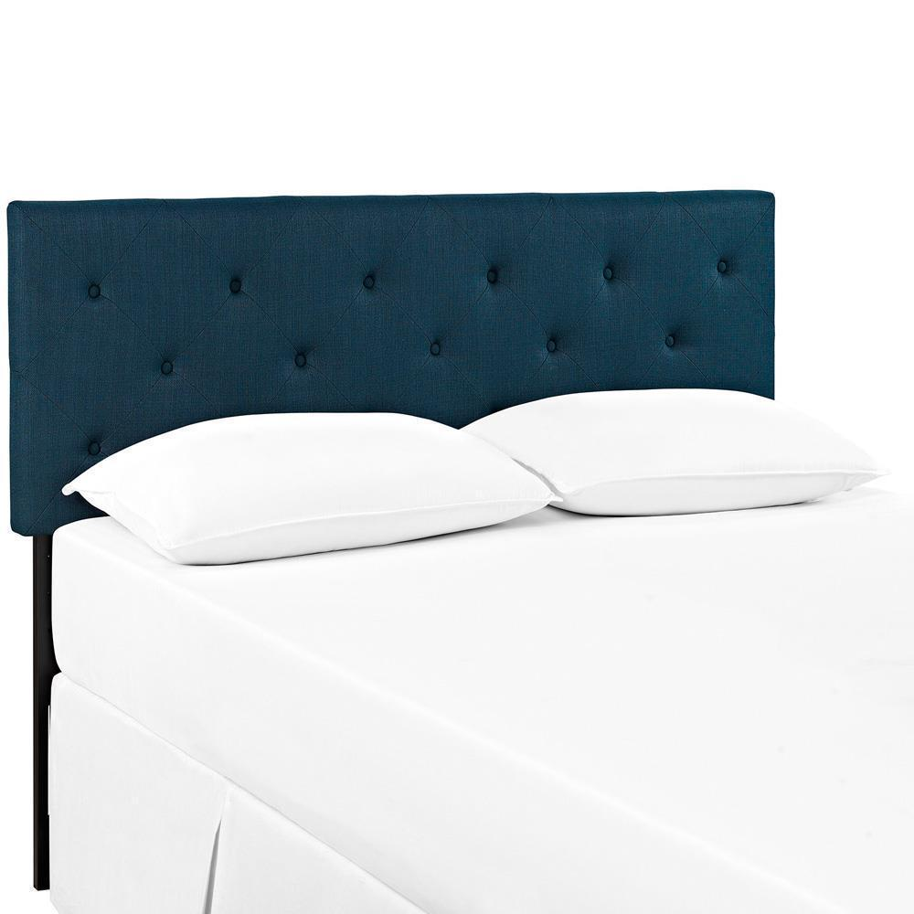 Modway Terisa Full Upholstered Fabric Headboard - Azure