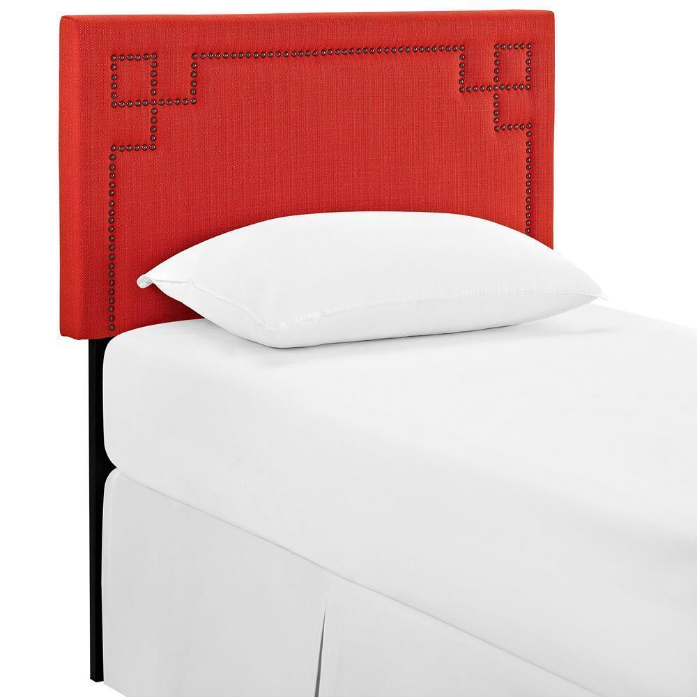 Modway Josie Twin Upholstered Fabric Headboard - Atomic Red
