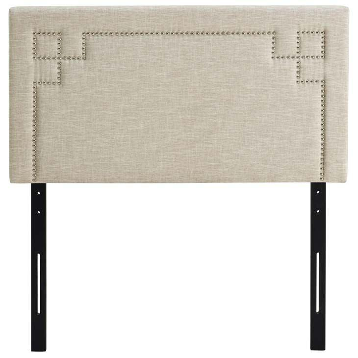Modway Josie Twin Upholstered Fabric Headboard