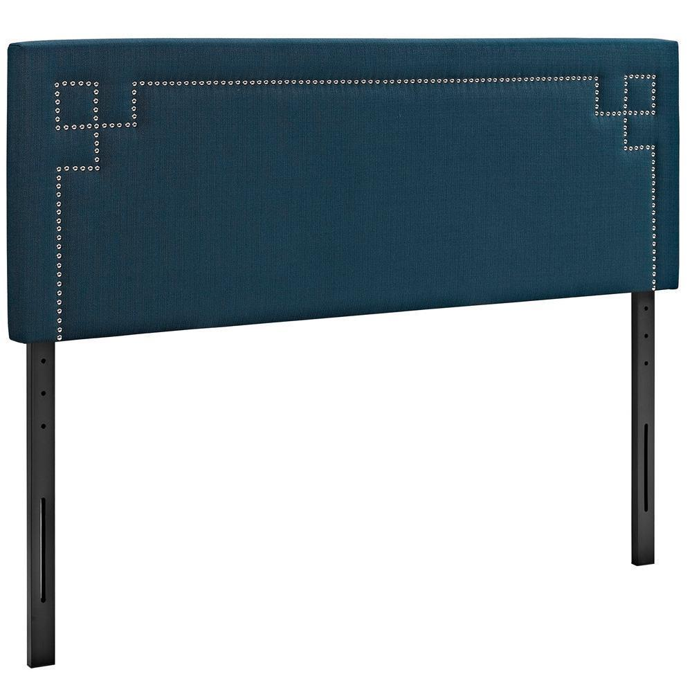 Modway Josie Queen Upholstered Fabric Headboard - Azure